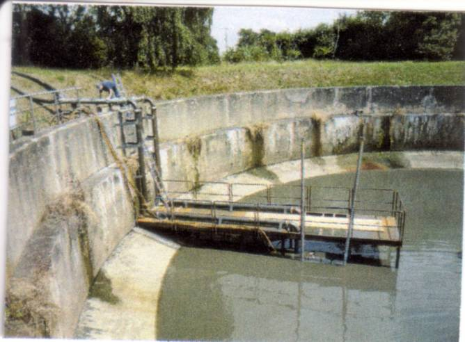Abwasserumleitungen